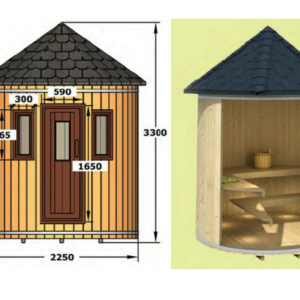 sauna vertical finlandesa