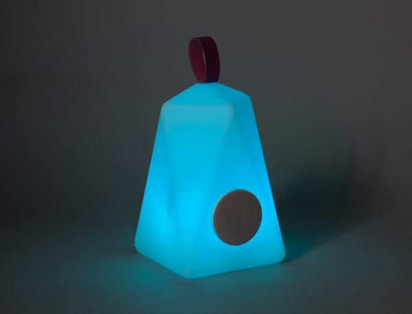 Lámpara Faralay con altavoz