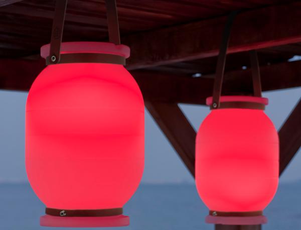 Lámpara portátil Candela con batería recargable