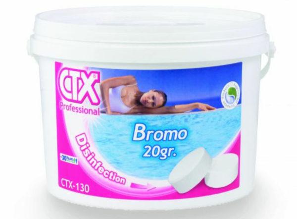 Tabletas de Bromo
