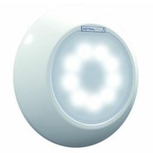 Luz blanca con embellecedor