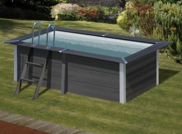 piscina desmontable gre Avantgarde Rectangular