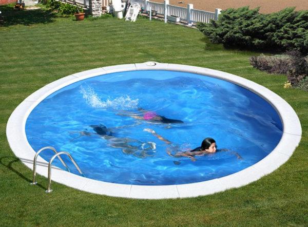 piscina desmontable gre Madagascar redonda