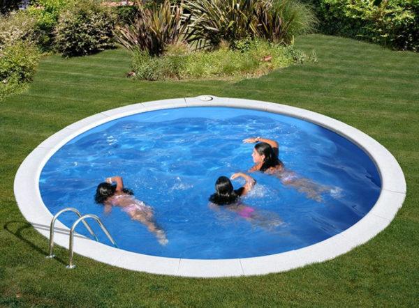 piscina desmontable gre Sumatra redonda