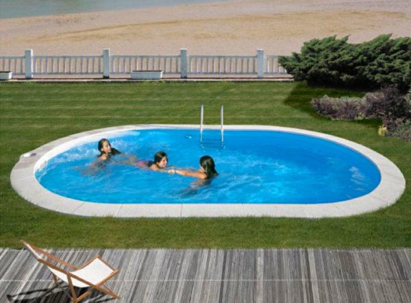 piscina enterrada gre sumatra ovalada grande