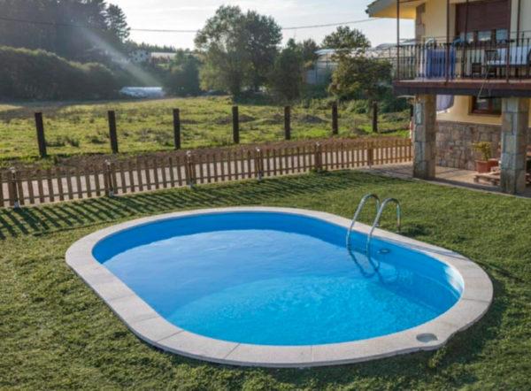 piscina enterrada gre sumatra ovalada pequeña