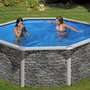 piscina desmontable gre Cerdeña redonda