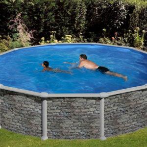 piscina desmontable gre Córcega redonda