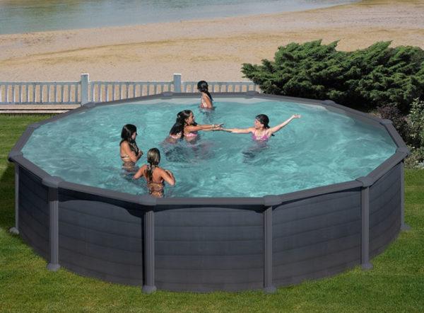 piscina desmontable gre Granada redonda