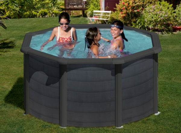 piscina desmontable gre Kea redonda