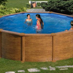 piscina desmontable gre Mauritus redonda