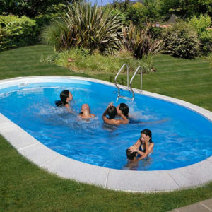piscina desmontable gre enterrada Moorea ovalada