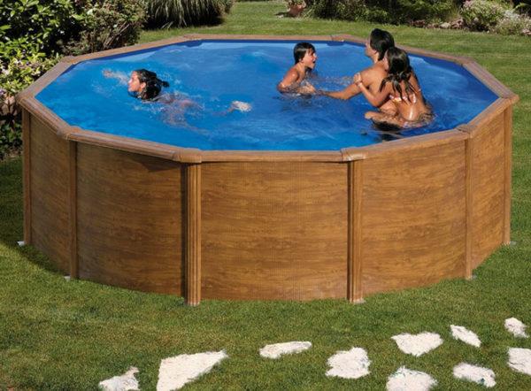 piscina desmontable gre Pacific redonda