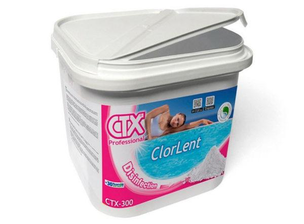 Tricloro en polvo CTX 300 ClorLent
