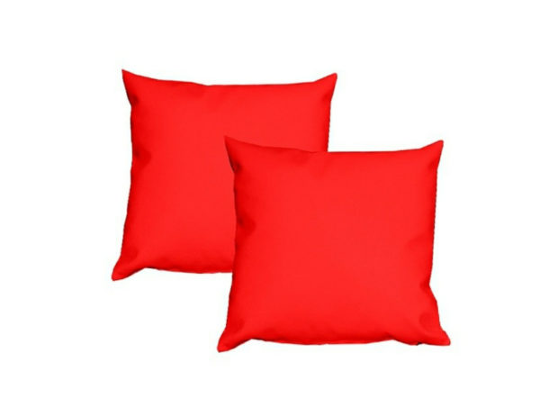 cojín cuadrado 40x40 rojo