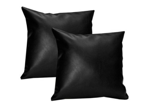 cojín cuadrado 60x60 negro