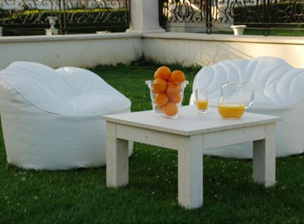 mesa balinesa cuadrada santorini