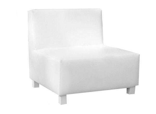sofá Gran Canaria 1 plaza blanco