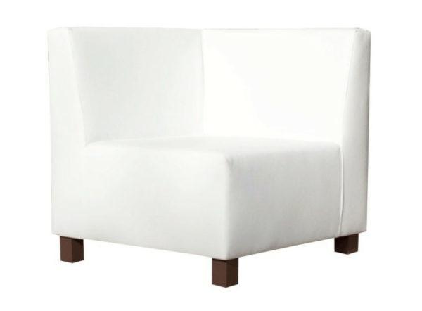 sofá Gran Canaria esquinero blanco