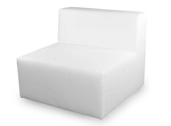 sofá ios 1 plaza blanco