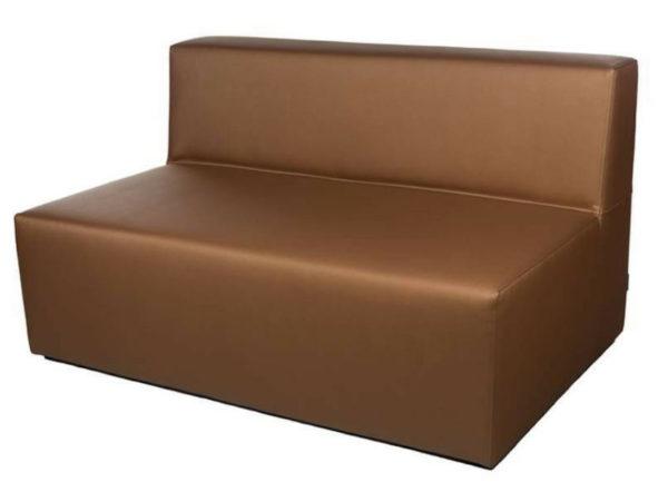 sofá ios 3 plaza chocolate