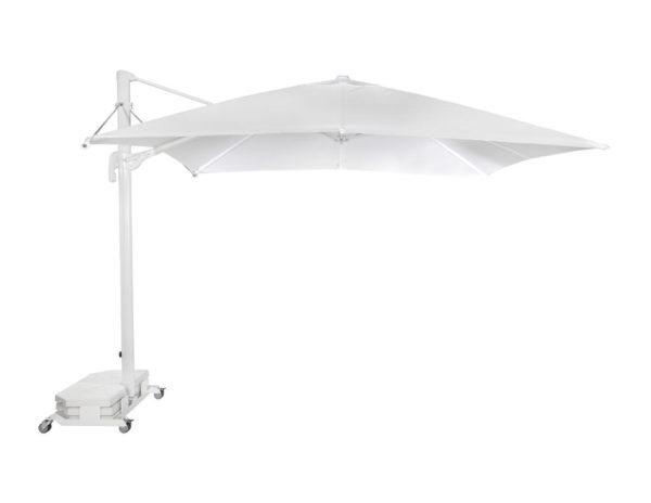 Parasol Flexo 3x3 metros de Ezpeleta de aluminio con fuga de vientos sin volante y diferentes colores