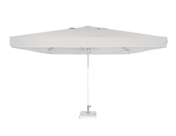 Parasol Formentera 3,5x3,5 metros de Ezpeleta de aluminio con fuga de vientos con volante y diferentes colores