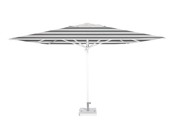 Parasol Formentera 3,5x3,5 metros de Ezpeleta de aluminio con fuga de vientos sin volante y diferentes colores