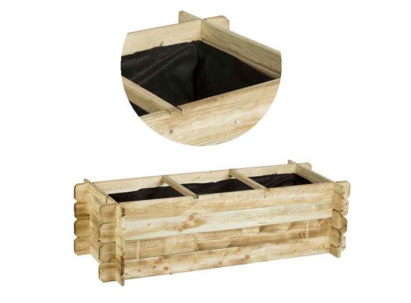 Linenature huerto con 3 cavidades de Catral