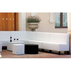 Conjunto sofá y mesa baja