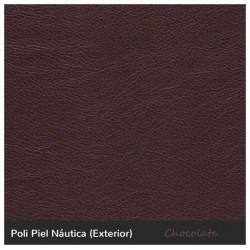 color marrón polipiel náutica