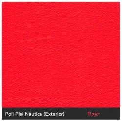 color rojo polipiel náutica