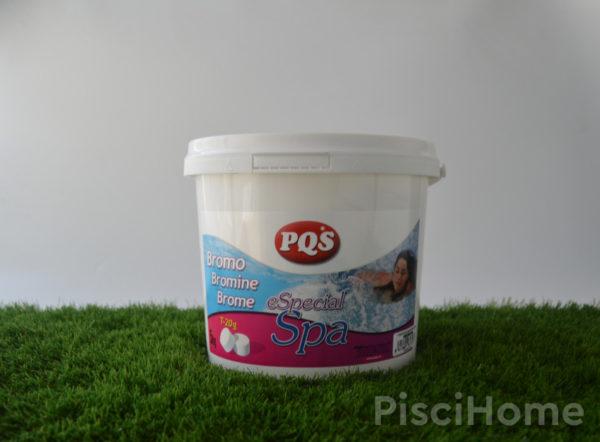 Bromo en tabletas para spas de PQS