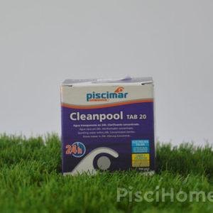 Cleanpool mini tabletas de 20 Gr. Aquanet