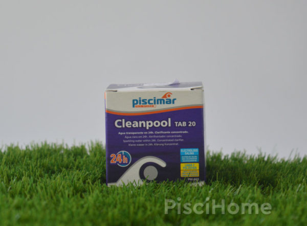 Cleanpool mini tabletas de 20 Gr. Aquanet