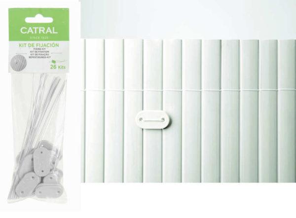 Kit de Fijación para cerramientos de PVC