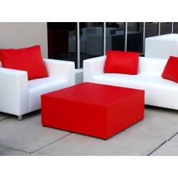 sofa de una y dos plazas color blanco
