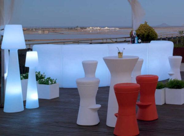 Barra Creta con Luz