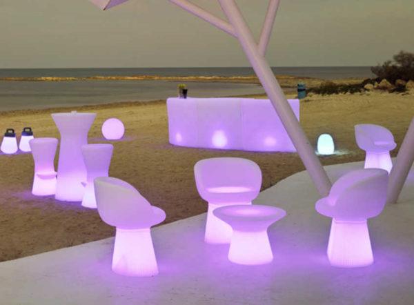 Barra Ibiza con Luz