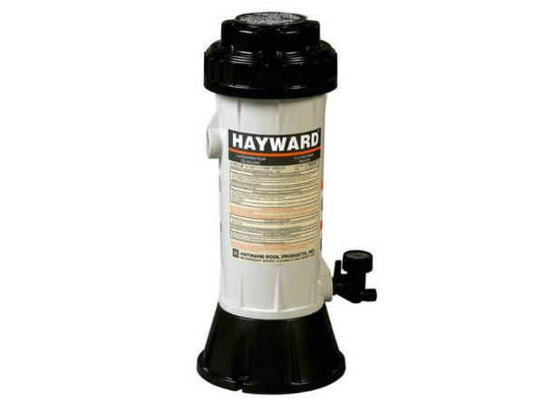 Dosificador cloro en bypass de hayward