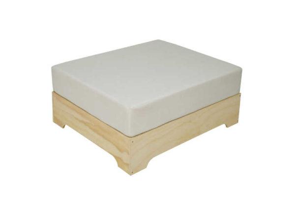 Puff Box con Cojín de Polipiel de Crea Collection