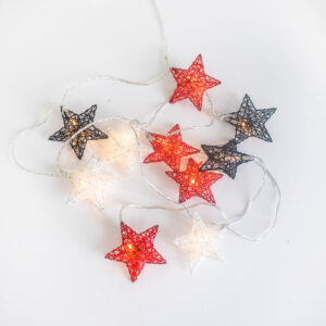 Guirnaldas de Navidad con forma de estrella